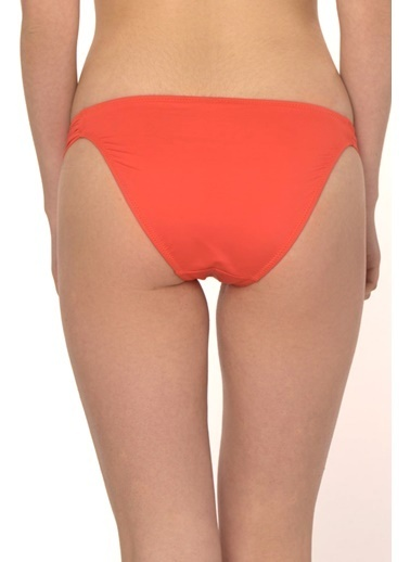 Reflections Mix Match Kelebek Modelli Düz Bikini Alt Oranj